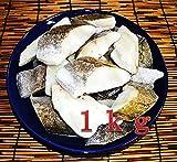 骨なし真だら切り身 1kg ベーリング海の新鮮な真鱈なのでどんな料理もぷりぷりで召し上がれます。