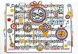 グリーティングカード(封筒付) ドイツ製 ハイドン 時計