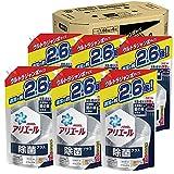 【ケース販売】 アリエール 除菌プラス 洗濯槽の菌の巣まで 除菌 洗濯洗剤 液体洗剤 詰め替え 1,680g (約2.6倍)×6袋