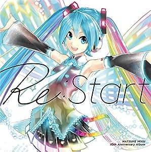 【Amazon.co.jp限定】HATSUNE MIKU 10th Anniversary Album 「Re:Start」(初回生産限定盤)【オリジナルステッカー付】