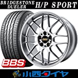 【19インチ】ブリヂストン デューラー H / Pスポーツ 255/50R19 BBS RG-R BP サマータイヤホイール 4本セット DUELER HP SPORT 【国産車】
