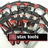 stax tools F型クランプ (80mm×10本set)