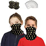 Neck Gaiter with Carbon Filter Scarf Bandanas Face Mask Sports/Outdoors