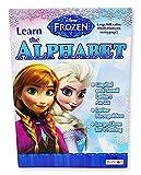 DISNEY FROZEN Learn the ALPHABET アナと雪の女王 アルファベット練習帳