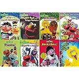 Ultimate Sesame Street DVD Collection - Learning & Educational 8-Pack: Follow That Bird / Rock & Roll / Fiesta - Elmo, Big Bi