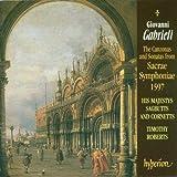 Canzonas & Sonatas from Sacrae Symphoniae