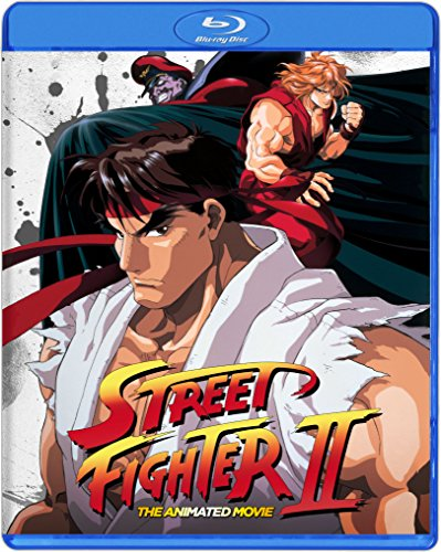 Street Fighter II the Animated Movie [Blu-ray] [Import]