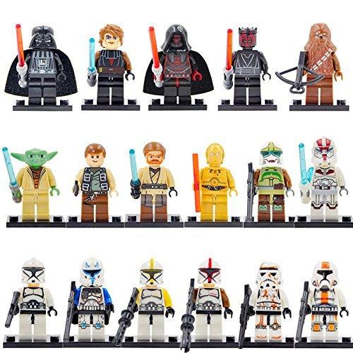 LEGO レゴ 互換 STARWARS スターウォーズ ミニフィギュア 16体セット