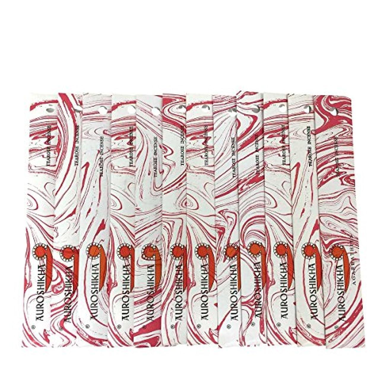 有用高くベイビーAUROSHIKHA オウロシカ(TEAROSEティーローズ12個セット) マーブルパッケージスティック 送料無料
