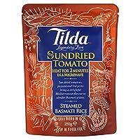 Tilda Steamed Basmati Rice Sundried Tomato (250g) ティルダは、バスマティ米日干しトマト( 250グラム)を蒸し