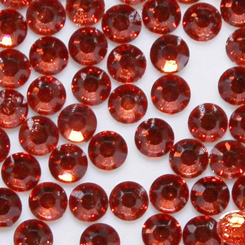 スロベニア血色の良い熟達高品質 アクリルストーン ラインストーン ラウンドフラット 約1000粒入り 4mm ヒヤシンス