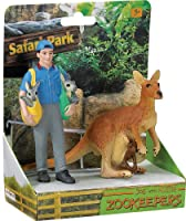 Safari Ltd. Safari Land Joe and Aussie Zookeeper by Safari