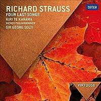 VIRTUOSO: Strauss, R: Four Last Songs; Mahler: Lieder by Kiri Te Kanwa