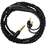 Xinvivion Sennheiser IE 40 PRO用 オーディオケーブル マイク付 音量調節 交換用 ヘッドフォンケーブル ライン