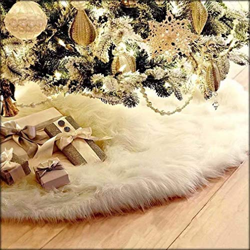 PINKING クリスマスツリースカート 立体飾り 下敷物 ...
