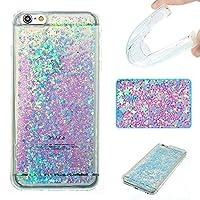 iPhone 6Plusケース、iPhone 6s Plusケース、Ranyi [グリッター液体ケース] [ Glitter &液体移動Around ]流れる液体フローティングGlitter Bling Sparkle Quicksand Case for Apple iPhone 6/ 6s Plus Ranyi-2032222