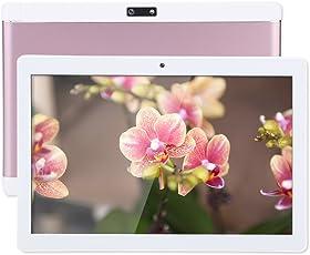 VBESTLIFE 10インチタブレットPC デュアルカメラ タブレットPC 4G LTE/WiFi 4GB RAM + 32GB ROM WiFi タブレット Androidシステム(ローズゴールド USプラグ)