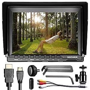 NEEWER NW759 7 Inch ウルトラHD 1280×800IPSスクリーンカメラフィールドモニター【並行輸入品】