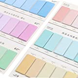Sticky Notes,Self-Stick Removable Shaped Pop-up Sticky Notes Multi-Pattern Color Selectable Index Tabs for Bookmarks Notebook