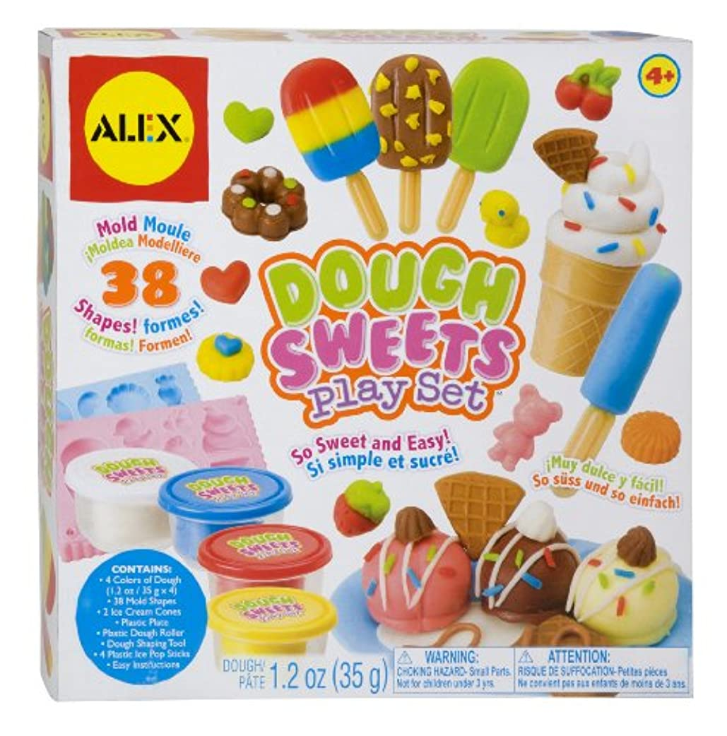 AlexおもちゃクラフトDough Sweets Playセット