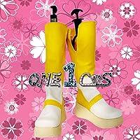 【サイズ選択可】コスプレ靴 ブーツ 12L1033 ARIA アリア アリス・キャロル 男性26.5CM