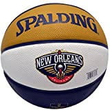 Spalding NBA Rubber Basketball New Orleans Pelicans Arena Exclusive Ball [並行輸入品]