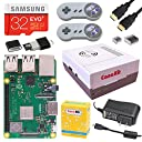CanaKit Raspberry Pi 3 B (B Plus) Retro Gaming Kit with 2 Retro Gamepads