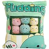 SHDZKJ Cute Bag of Plush Toy Soft Throw Pillow Stuffed Animal Toys Creative Gifts Room Decor (Dinosaur)