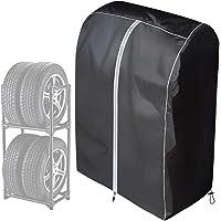 WESタイヤカバー,普通車タイヤラックカバー,(RV車用/軽自動車用)410Dオックスフォードクロス耐久,耐熱,防水,ブ…