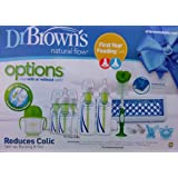 Dr. Brown's Options+ Baby Bottles First Year Feeding Gift Set