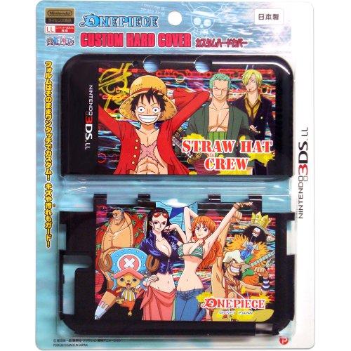 NINTENDO 3DS LL専用 ワンピース カスタムハードカバー B柄