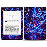 Decal Moments Vinyl Skin Decal Sticker Protective for Kindle Paperwhite eBook Reader Wrap Cover Skin Colorful Lines [並行輸入品]