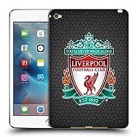 オフィシャル Liverpool Football Club ブラックピクセル1 クレスト2 iPad mini 4 専用ソフトジェルケース