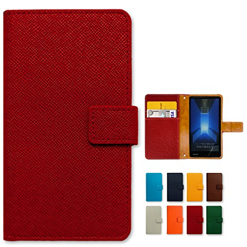 iPhone6s iPhone6 用 大人の型押し 手帳型 ケース 内側ケース:黒TPU iphone6 iphone6s スマホ ケース カバー 手帳 手帳型 スマホケース スマホカバー iphone6ケース iphone6カバー ノーブランド品 red