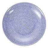 Arabia アラビア 24h Avec 008284 Plate flat 20cm フラットプレート 皿 Blue ブルー 北欧食器 フィンランド 並行輸入品