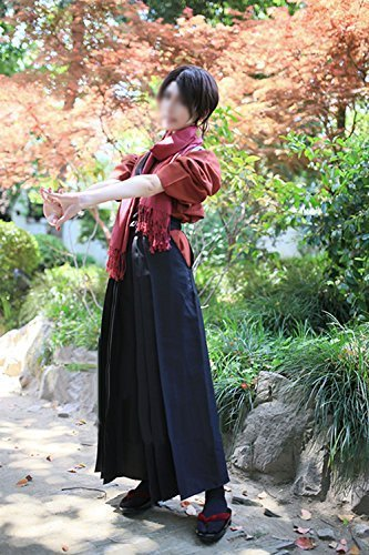 刀剣乱舞 加州清光 風 衣装セット (上着、ズボン、スカーフ) コスチューム レディース Mサイズ