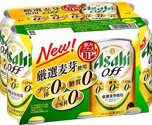 アサヒオフ 缶350ml×6缶