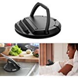 Avankin 360° Swiveling Cell Phone Stand for Desk, Phone Holder for Bed, Adjustable Angle View for Video Conference & Cooking,
