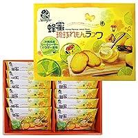 はちみつ琉球れもんラスク 12枚×1箱 ナンポー シークヮーサー風味 沖縄土産 個包装 バラマキ