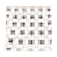 KIYOHARA パンチングレザ-カット 20cm×20cm ホワイト FABM-01C #630