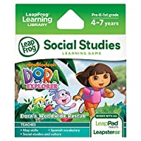 LeapFrog Explorer Game: Dora the Explorer Dora's Worldwide Rescue
