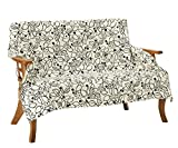 Vita home マルチカバー 正方形 140×140 cm 北欧 ブルージュ ホワイト 綿100% 日本製 mc_006_wh