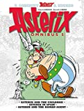 Asterix Omnibus 5: Includes Asterix and the Cauldron #13, Asterix in Spain #14, and Asterix and the Roman Agent #15 by Rene Goscinny Albert Uderzo(2012-09-04)