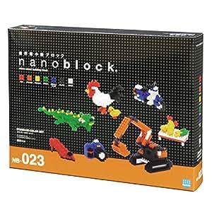 ナノブロック スタンダードカラーセット NB-023