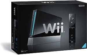 Wii本体 (クロ) (「Wiiリモコンジャケット」同梱) (RVL-S-KJ) 【メーカー生産終了】