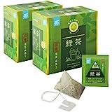 [Amazonブランド]Happy Belly 伊藤園 国産 宇治抹茶入り緑茶 ティーバッグ 96袋(48袋 × 2箱)
