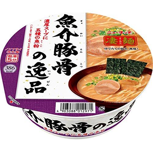 ニュータッチ 凄麺魚介豚骨の逸品 122g×12個