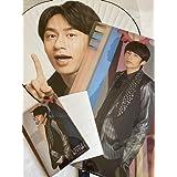 KAT-TUN 【 (中丸雄一)ジャンボうちわ+クリアファイル+オリジナルフォトセット 】15周年 アニバーサリー + 公式写真1種 セット