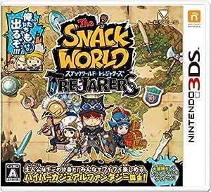 スナックワールド トレジャラーズ (【数量限定封入特典】限定ジャラ「クリスタルソードα 」 同梱) - 3DS