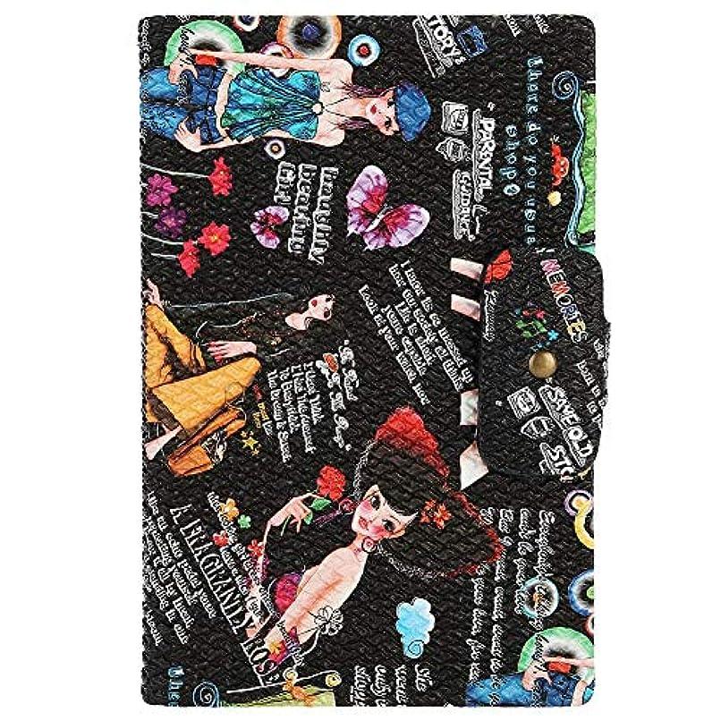 キャプション華氏占めるネイルアートディスプレイスタンド 160色表示 プラスチック板 ネイルポリッシュカラー ディスプレイ サロン アクセサリー(02)